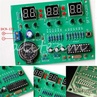 alarm clock parts - Newest Arrival DIY Kit Module V V AT89C2051 Digital LED Electronic Clock Parts Components