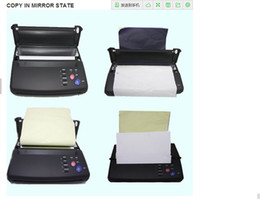 Wholesale High quality professional A4 transfer paper original top quality tattoo thermal copier stencil thermal tattoo printer machine