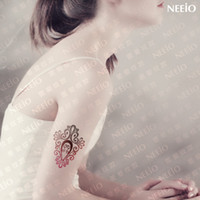armed maps - Women Temporary Tattoo Stickers Waterproof Design fantasy totem pattern arm body makeup gradient creative map