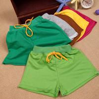 Wholesale New Fashion Hot Baby Baby Girl Boy Cotton Sports Shorts Casual Summer Beach Hot Pants Shorts Y Retail