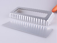 aluminium pie pans - Aluminium alloy rectangle baking mould cake pan pie plate baking tools cake decoration cake mold