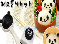 ball stamper - 1Set Rice Mold Stamper SET Kawaii Panda Japan Lunch Rice BALL amp Sushi Mold Mould Shaper Kit Kitchen Sea Sedge Stamper