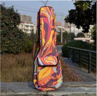 Wholesale Cool Camouflage Printed quot Concert Ukulele Cover Guitar Bag MM Thick Cotton Soft Uku Case Durable Gig Bag