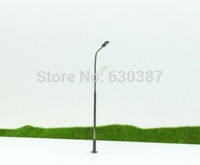Wholesale LQS07 Model Railway Train Lamp Post Street Lights HO TT Scale LEDs NEW
