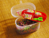 basics units - units leagues to create multicolored rubber bracelet hand toys for children with basic tools