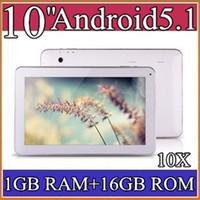 Wholesale 10X GB GB GHZ Quad Core Allwinner A33 android Lollipop dual camera inch quot tablet pc Bluetooth USB OTG NEW PB