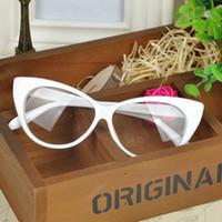 Acetate Women Eyewear Accessories Wholesale- Plain Eye Frame Spectacle Cat Eye glasses Eye Styling Leopard Eyeglasses Frame Women Brand Birthday Gift *41