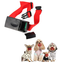 best dog bark control - New Arrival Best Quality Anti Bark Stop No Barking Dog Training Electric Shock Control Collar to cm Fit For Train