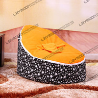Wholesale baby bean bag cover with orange up cover baby bean bag seat cover baby bean bag chair kids sofa