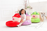 Wholesale Fruit cartoon pig baby children sofa sofa cute little baby gift sofa sofa chair can unpick and wash