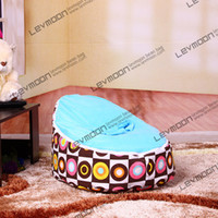 Wholesale fashionable baby bean bag chairs baby feeding seat baby sofa cover