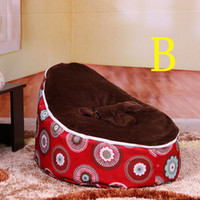Wholesale Promotion Unisex Children Popular Lovely Bean Bag Newest Design Kids Chair Sofa Baby Bean Bag Seat Beanbag