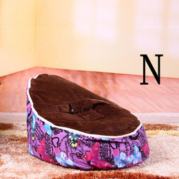 price good fashion pattern comfortable healthy baby bean quality newborns beanbag chairs seat - Cheap Bean Bag Chairs