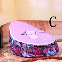 Wholesale Excellent Quality Newborns Beanbag Chairs Bean Bag Filler Multifunctional Baby Furniture Kids Chair Fast Delivery Easy to Wash