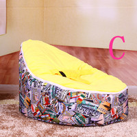 Wholesale and Retail Baby Sofa Baby Seat Chair Children Baby Boys and Girls Chairs Sofa Bed Baby Bean Bag Chair with Harness