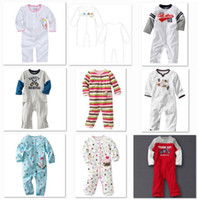 jumping beans baby clothing - Jumping Beans Baby Rompers Retail Baby s Pajamas Babywear Tights Baby Clothes Cotton Toddler Body suits W141
