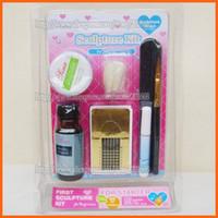 acrylic sculpture kit - D Nail Art Sculpture Kit Mini Manicure Acrylic Powder Stater set