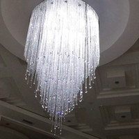 big light project - new arrival large modern crystal chandelier lighting Dia100 H150cm big hotel projects light
