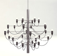 arteluce lamp - Arteluce Gino Sarfatti designed Chandelier bulbs lamp