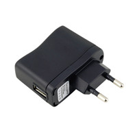 Wholesale USB AC Power Supply Wall Adapter MP3 Charger EU Plug Hot Selling