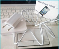 base cable - in Kit base dock charger Charging adapter EU US Plug USB Sync Data Charger cable for iPhone s c