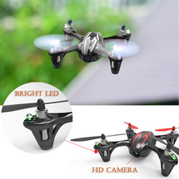 Wholesale Hubsan X6 H107C B CH UFO HD Camera Mini Drone RC Quadcopter Helicopter Gyro Led Light Windproof Rotating Aerial photo