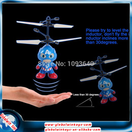 Wholesale remote control kids toys SPACE MAN ch Infrared induction HY830 helicoptero rc fly toy micro drone kit drone mini helicopter