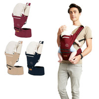 Wholesale Summer Baby Carrier Infant Waist Hip Stools Kids Printed Cotton Seat Backpack