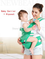 Wholesale New fashion baby carrier hipseat multi functional organic cotton Breathable and Warm canguru baby sling portabebe mochila