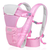 Wholesale Comfortable sling baby backpack carrier cotton baby carrier Front Facing breathable Multifunctional baby sling wrap