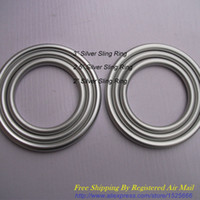 Wholesale pair quot quot quot Size available Silver Aluminium Sling Rings DIY Your Best Baby Slings for Newborns