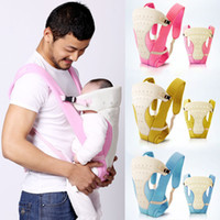 Wholesale Hot Selling Fashion baby carrier newborns Sling Toddler wrap Rider Polyester baby front carry backpack suspenders years T159