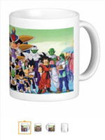 dishwasher - New Dragon Ball Z Custom Mugs oz Coffee Cups Dishwasher and Microwave Safe gift to kids friend