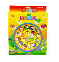 best fish for kids - Big set fishing toy best baby toy fish Electric Fish best gift for Kid Children Educational Toy with music magnetic fishing