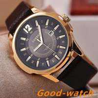 Wholesale Luxury Brand CURREN Men military watch Fashion Men wristwatches Quartz men sports watches Casual leather Men Watch Relogio