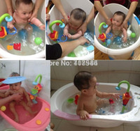 bath shower spray - baby water spraying bath play taps toys buttressed music spray shower electronic spray water