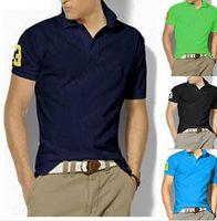 Wholesale have big horse camisa polo brand shirts camisa masculina polo men aleatory clothing