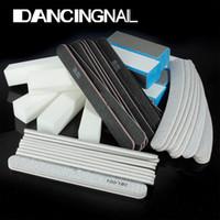 sand paper - Nail Art Sanding Files Buffer Block Manicure Pedicure Tools Sand Paper Foam UV Gel Set