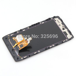 Wholesale For Motorola Droid Razr XT910 LCD Display Touch Screen with Digitizer Bezel Frame Assembly without quot verizon quot