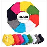 Wholesale Candy color boys board shorts Unisex summer style kids boardshorts High end kids surf shorts new girl beach wear clothing