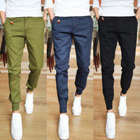 Wholesale Jogger Fashion Fit Mens Casual Pants New Design Business Trousers High Quality Cotton Pants