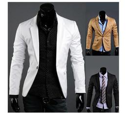 Discount Long White Coat Suits For Men   2017 Long White Coat