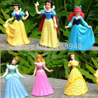 belle cake - PRINCESS CAKE TOPPERS SET OF CINDERELLA SNOW WHITE BELLE quot LC