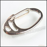 Wholesale Key Ring Clasp Copper Rhodium Plated Fit Keychain Bag Charms