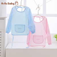 bamboo baby wear - A new arrival baby tpu water resisting breathable bamboo fibre baby male women s anti wear gowns summer