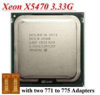 Wholesale Original Xeon X5470 INTEL XEON X5470 CPU processor GHz LGA771 MB L2 Cache Quad Core FSB server CPU