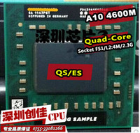 amd mobile cpu - Shipping free For AMD laptop Mobile A10 M A10 m QS ES Socket FS1 CPU M Cache GHz Quad Core processor