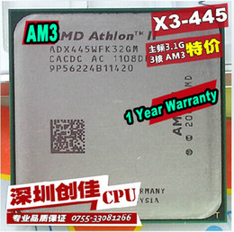 Wholesale AMD Athlon II X3 GHz Triple Core Socket AM3 Desktop CPU Processor scattered pieces quad core processor