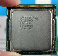 al por mayor cpus de 8 mb-Al por mayor-original Intel Core i5-760 (2.8 GHz / 8MB de caché / Socket LGA1156 / 45nm) Escritorio i5 CPU 760