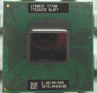 Wholesale Shipping free Intel Core Duo T7700 SLAF7 SLA43 GHZ MB MHZ Socket P Processor cpu